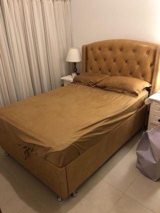雙人床包床褥