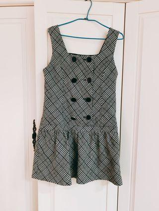 專櫃Betty's 羊毛背心裙