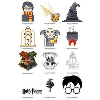 Mini Stickers - Harry Potter