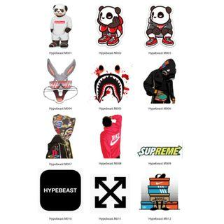 Mini Stickers - Hypebeast