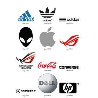 Mini Stickers - Logos