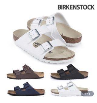 [LTD TIME PO] BIRKENSTOCK ARIZONA BIRKO FLOR SANDALS SLIPPERS