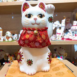 日本高貴 華麗 招福 招財貓