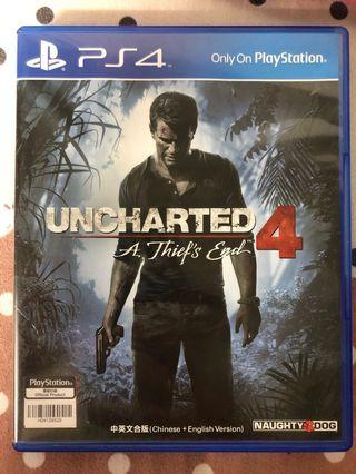 PS4 Uncharted 4