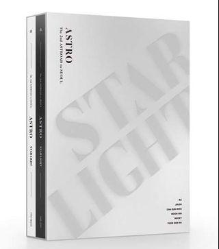 ASTRO THE 2ND ASTROAD TO SEOUL DVD AND BLU RAY