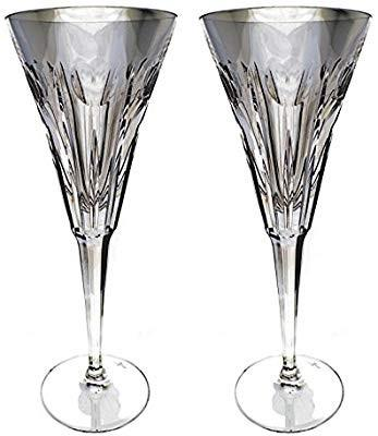 2 Toasting Flutes *The Millennium Collection* by WaterFord Crystal