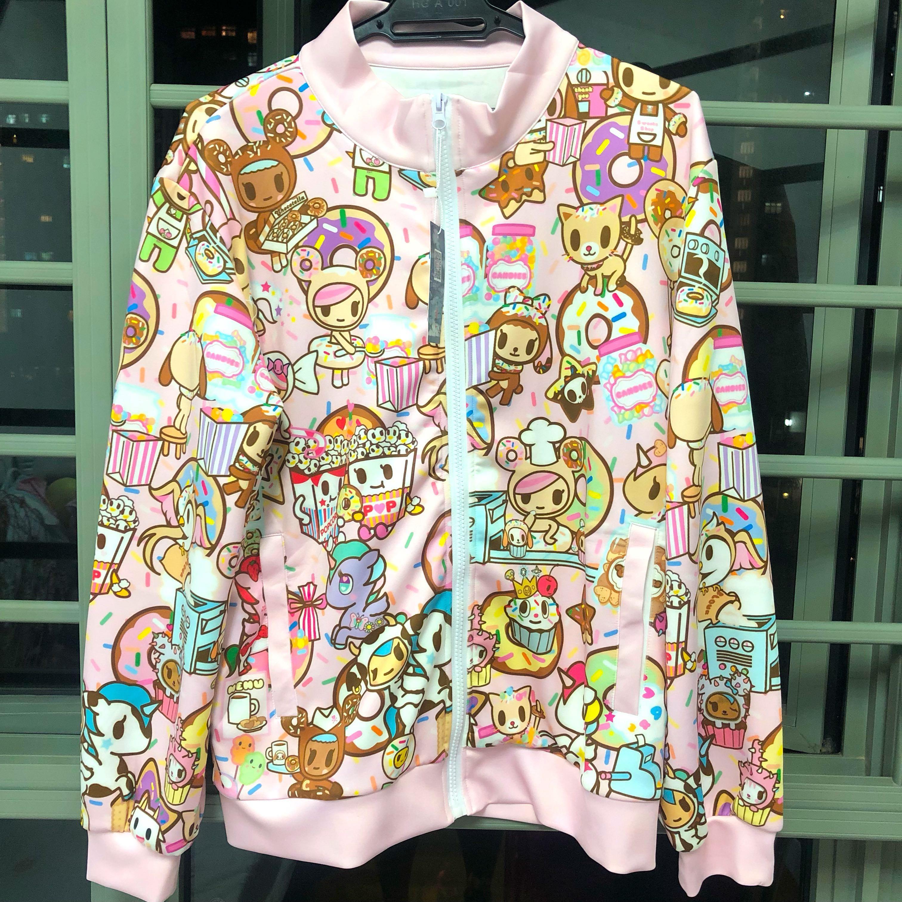 $30* BNWT Tokidoki Donutella Pink Jacket Plus Size