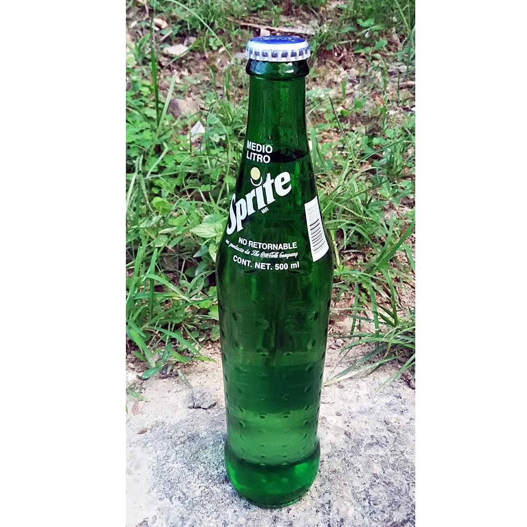 94年麥西哥可口可樂Sprite 500mL玻璃樽一枝