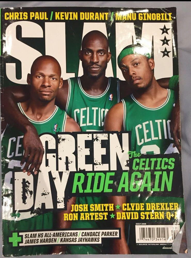 8x SLAM Magazines + 5x SLAM UPS posters + 4x NBA Basketball Magazines