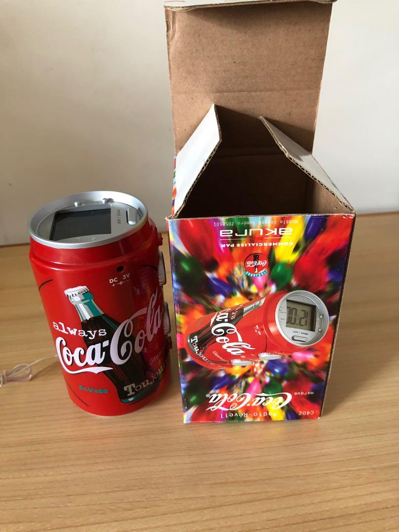 可口可樂時鐘收音機