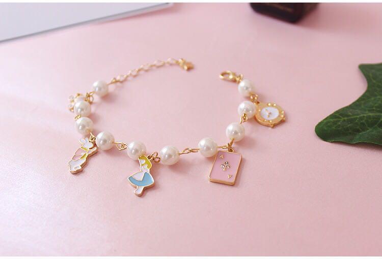 愛麗絲珍珠手鏈