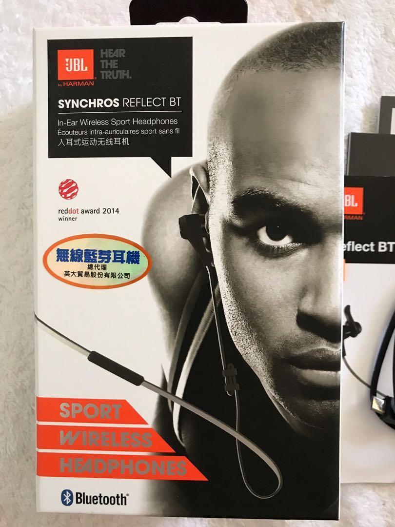 #降價 JBL Reflect BT藍芽掛頸式運動耳機(2015購入)