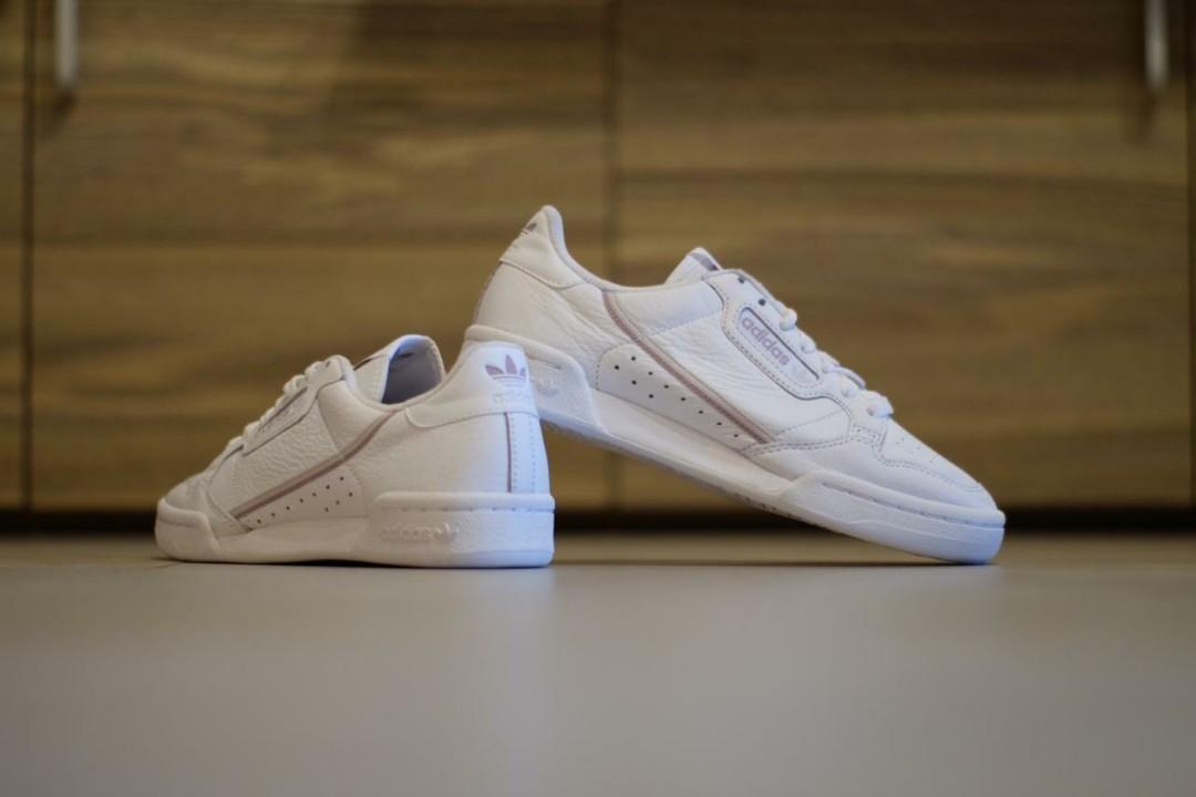 "Adidas continental 80s ""allwhite"""