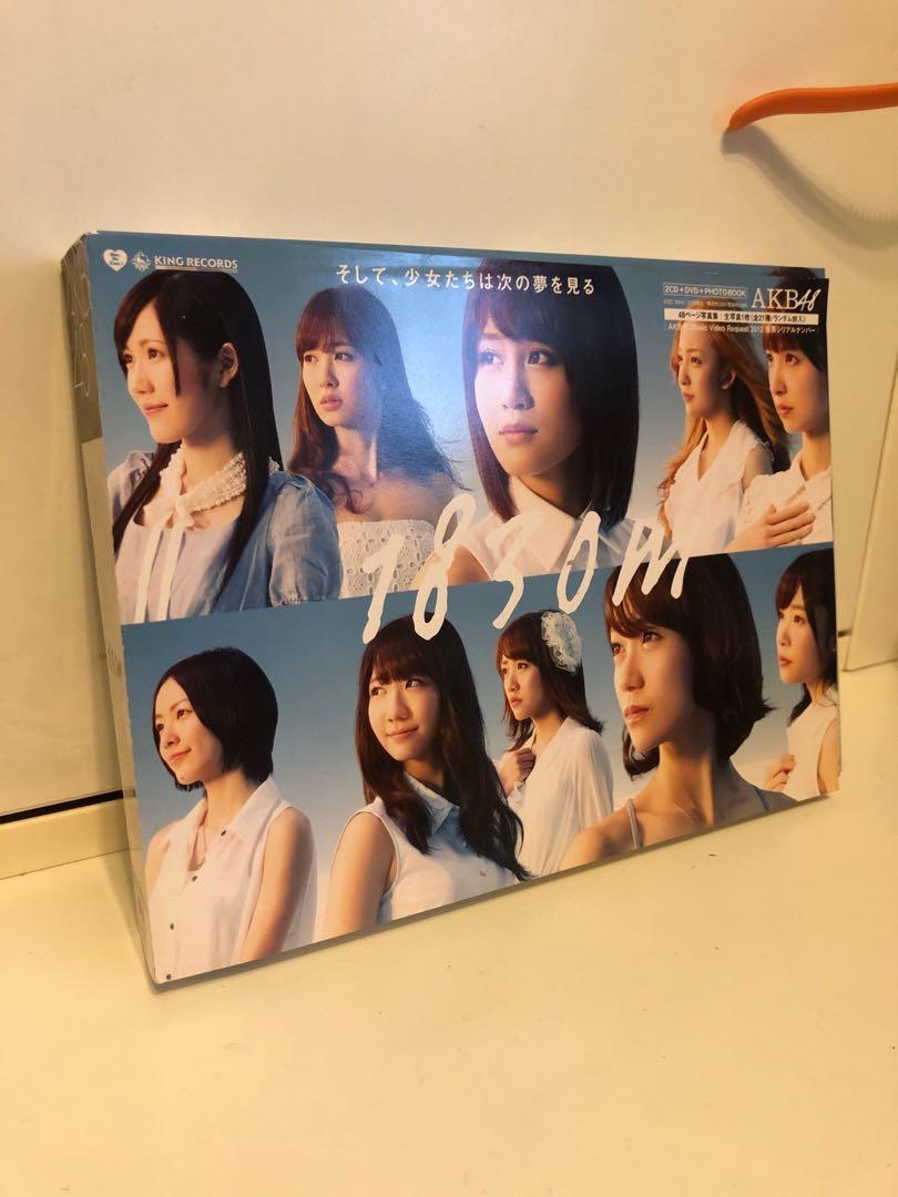 AKB48 專輯 1830m 2CD+DVD+PHOTO BOX 有海報