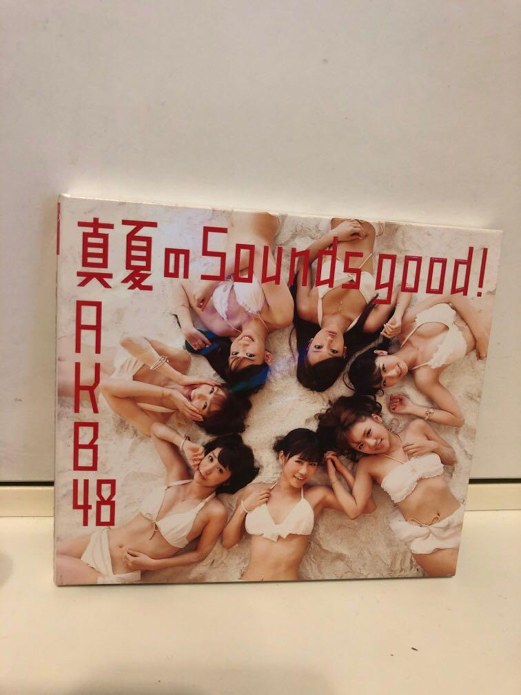 AKB48 真夏のSounds good! CD type A連特典