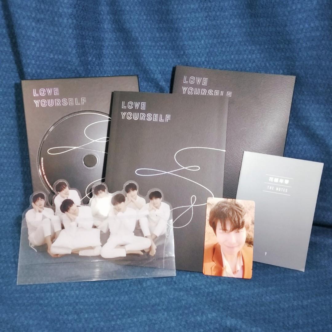 Album BTS Love Yourself: Tear (Y ver)