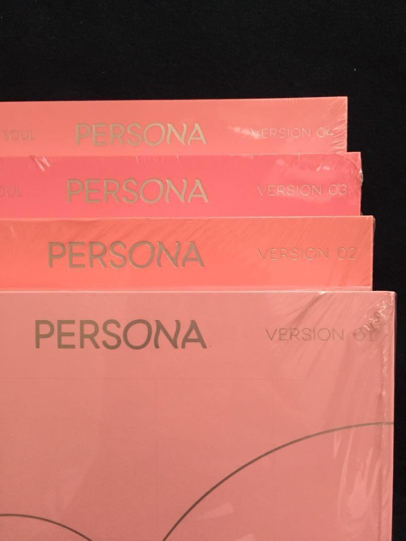 Album BTS MAP OF THE SOUL PERSONA Version 1/2/3/4