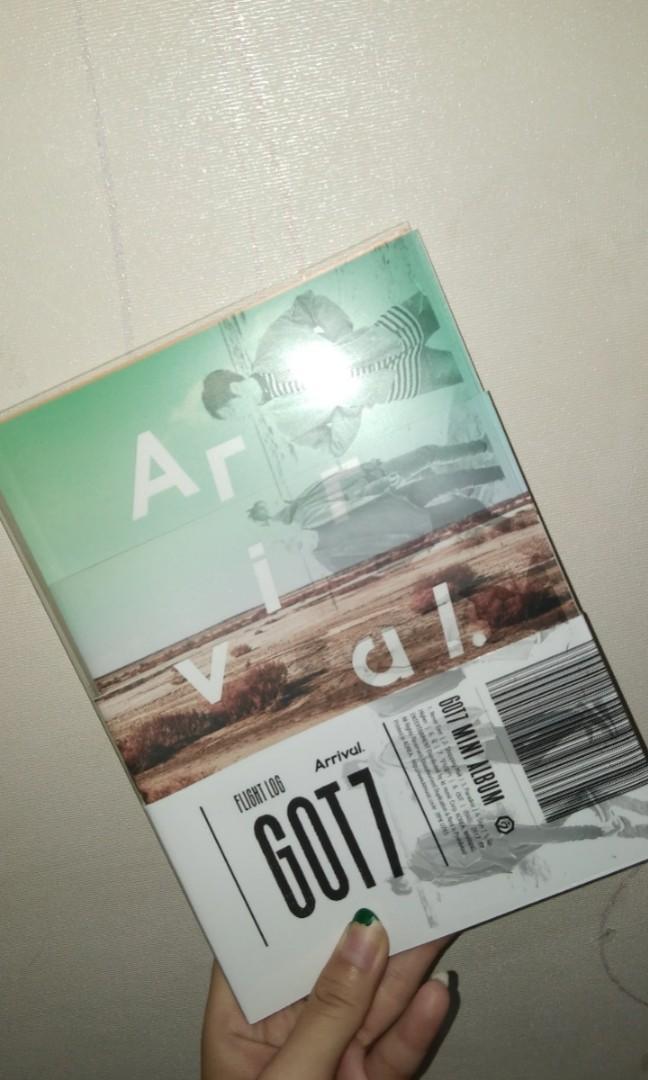 ALBUM GOT7 TURBULANCE FLIGHT LOG