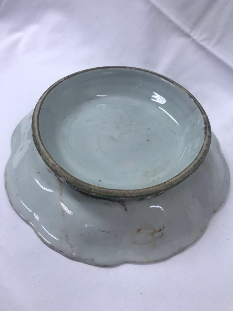 Antique Chinese Porcelain 19th Century Compote