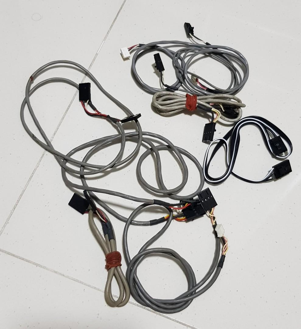 Audio patch cables