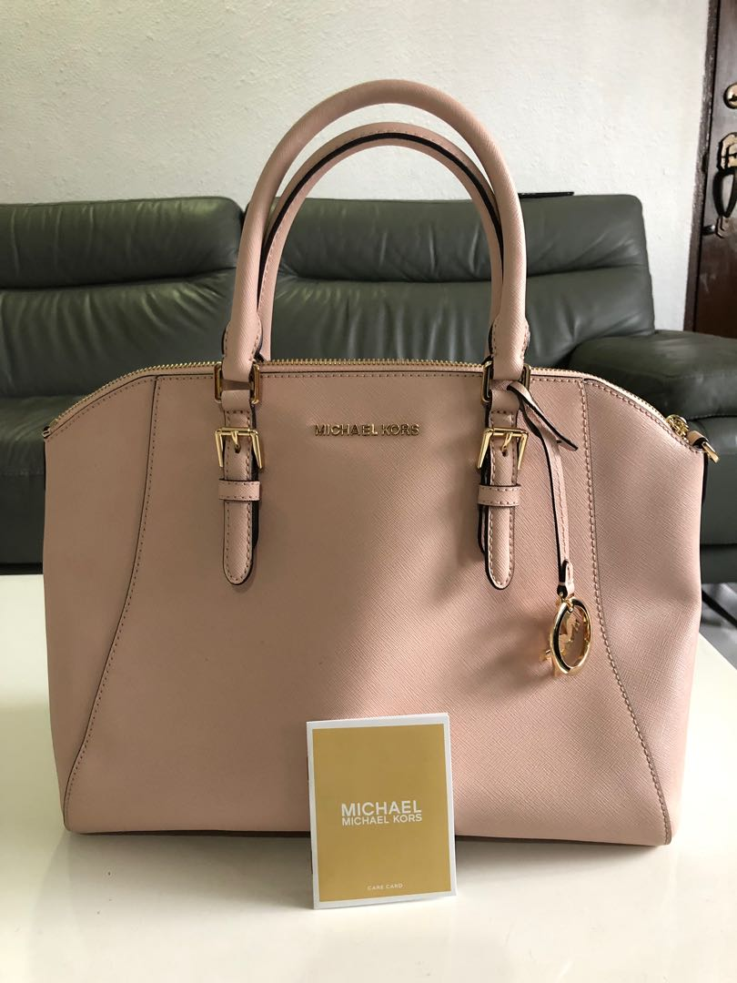 64c231fdcef Authentic Large Micheal Kors Bag, Luxury, Bags & Wallets, Handbags ...