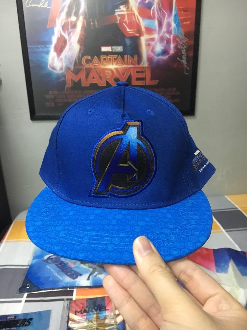 0da4bab66 Avengers: Endgame Cap, Men's Fashion, Accessories, Caps & Hats on Carousell