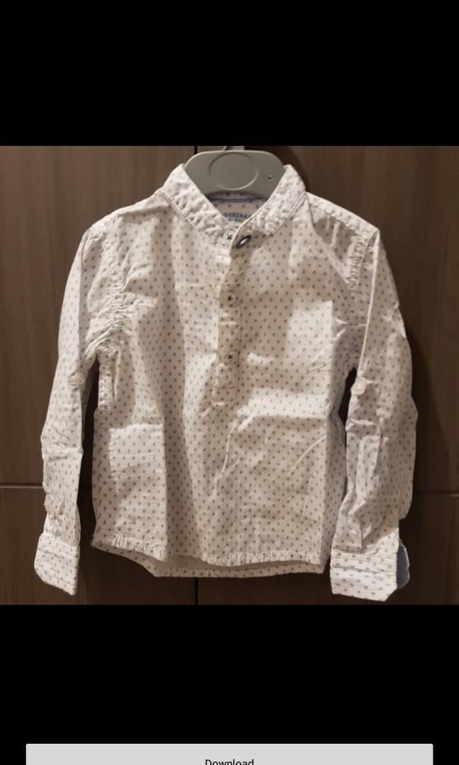 Baby Boy Shirt Gingersnaps