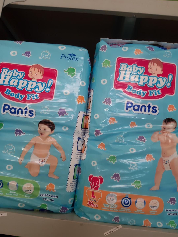 Baby happy pants m&l