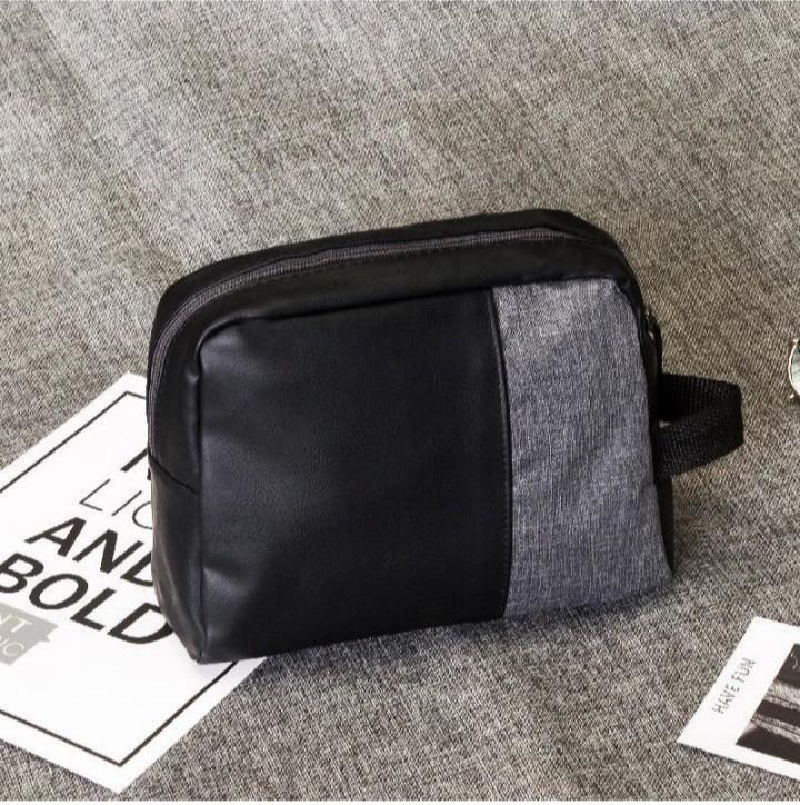 Betterwear pouch pria dan wanita unisex multifungsi/Handbag/Travel Pouch/Clutch