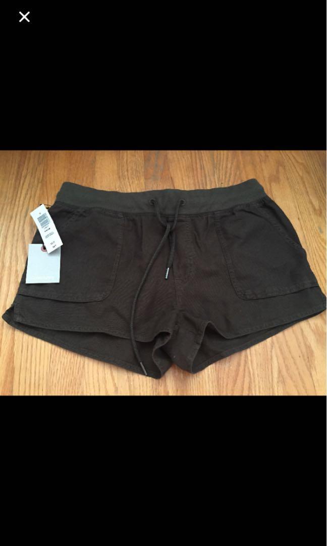 BRAND NEW Aritzia Axiom shorts