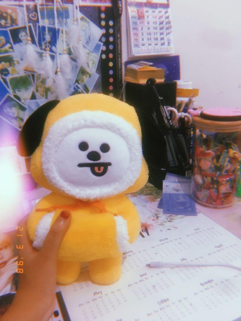 BT21 WINTER CHIMMY STANDING PLUSH EDITION (OFFICIAL)