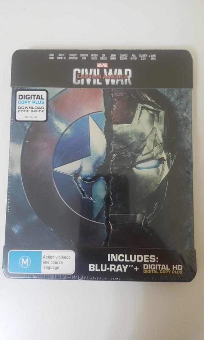 Captain America: Civil War Steelbook BRAND NEW SEALED