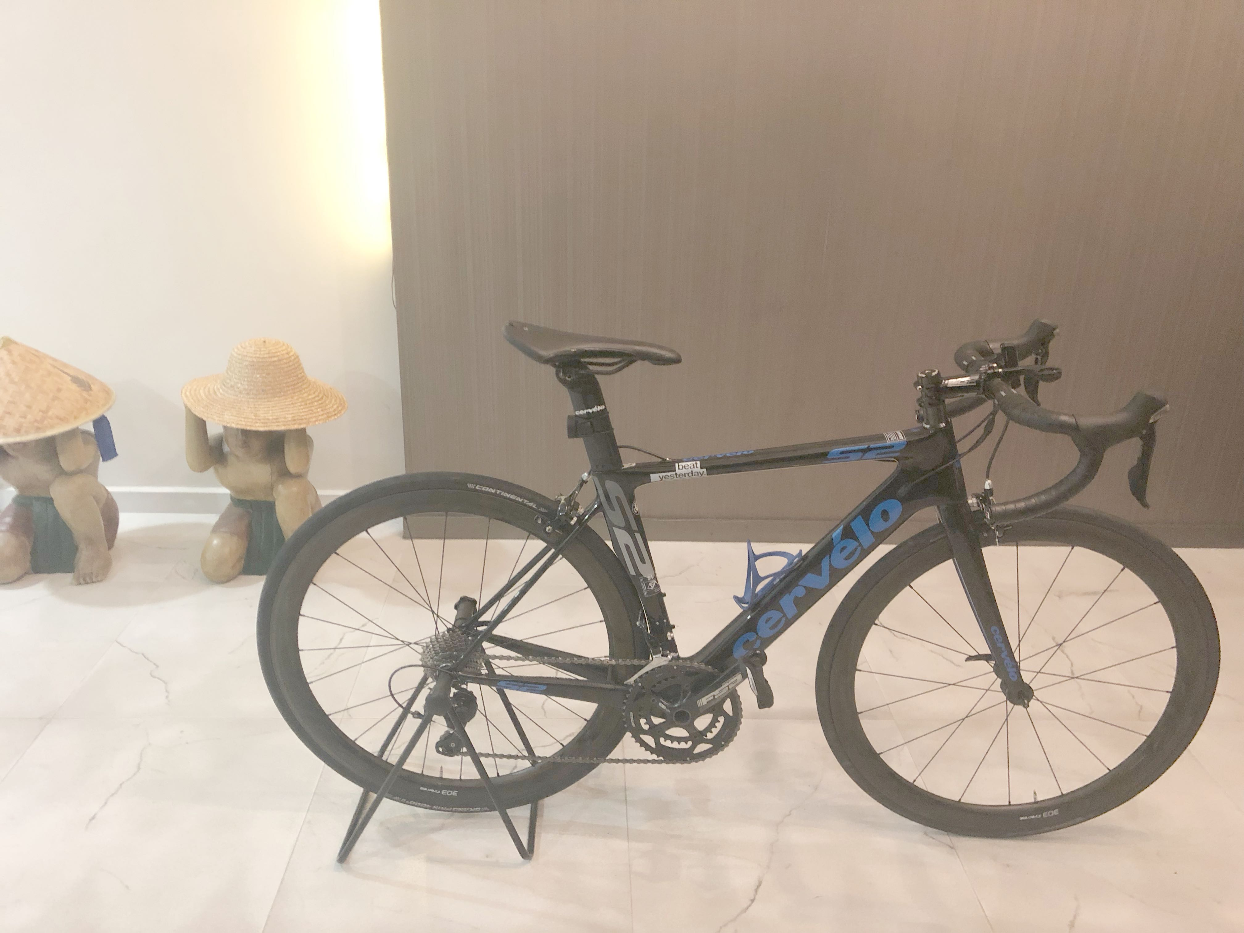 e4c6efd23f6 Cervelo Frame with 105 groupset , Bicycles & PMDs, Bicycles, Road Bikes on  Carousell