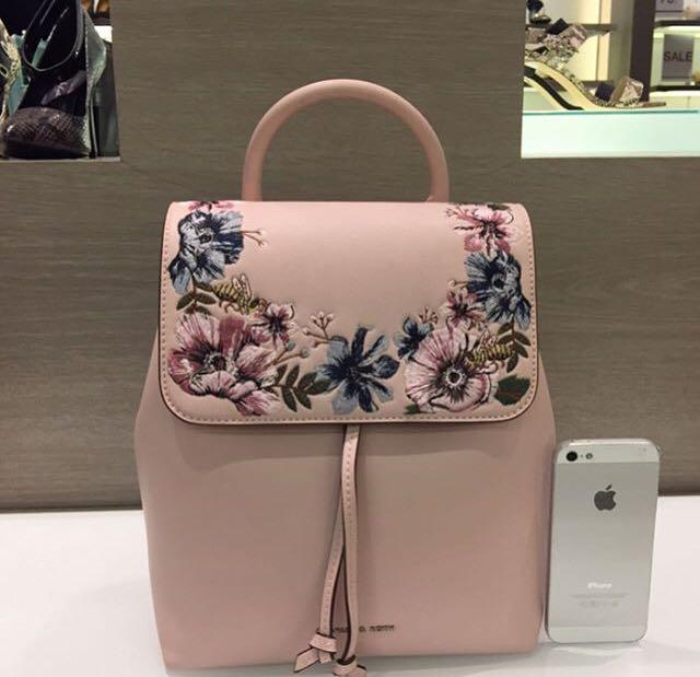 Charles and Keith Flap Backpack