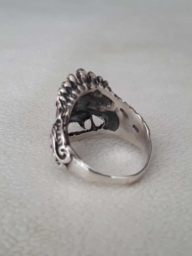 Cincin BARONG Perak 925