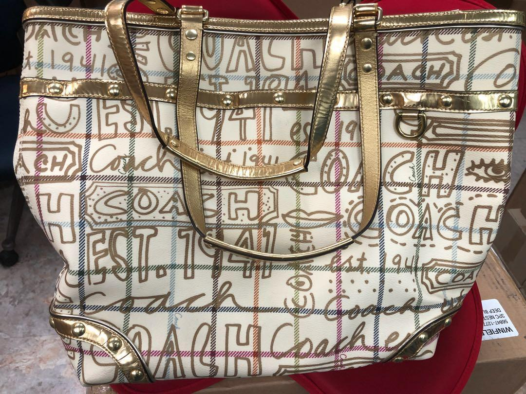 Coach huge tote bag new bought from Usa directly cheap gift