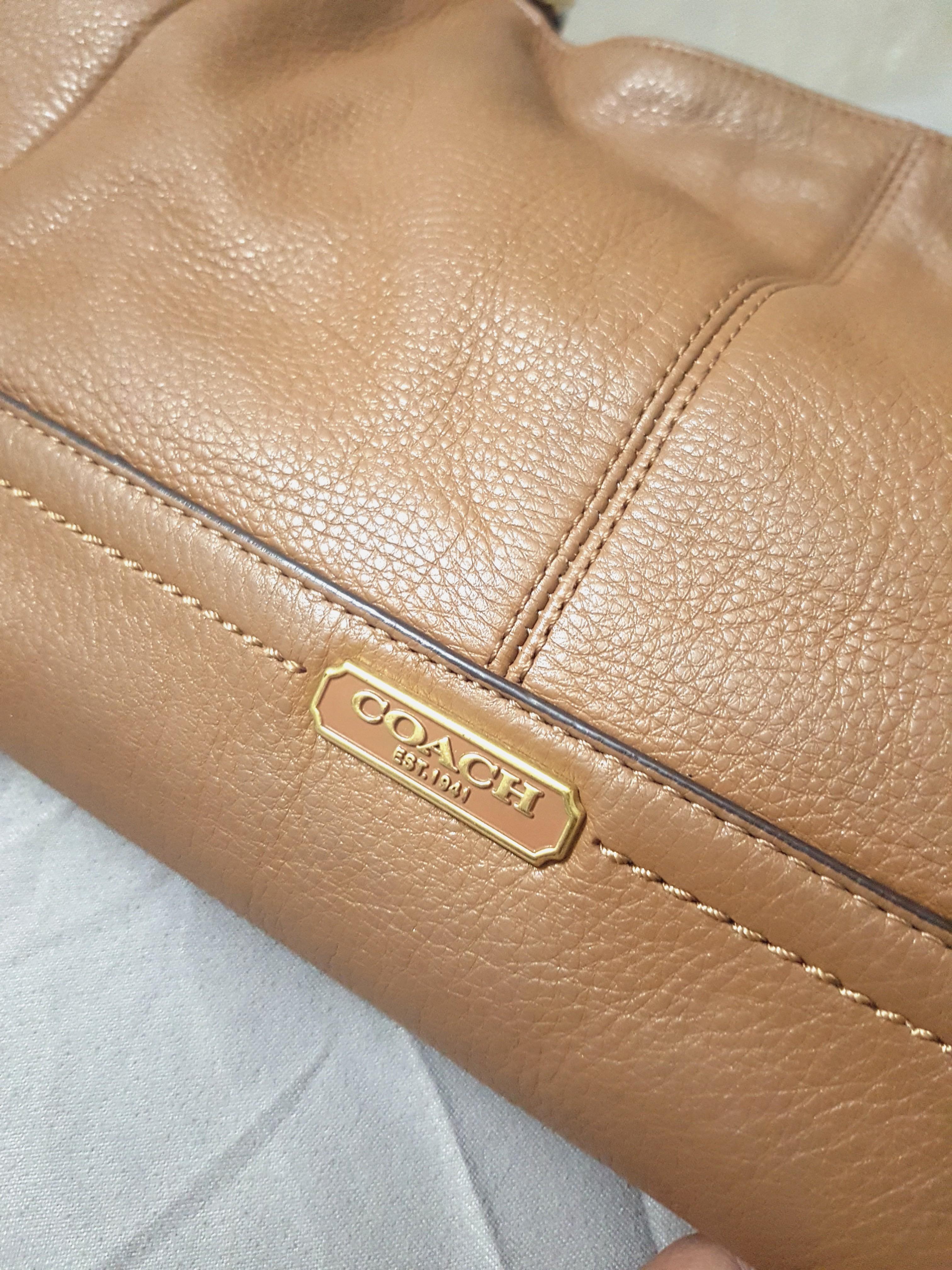 Coach Shoulder Leather Authentic