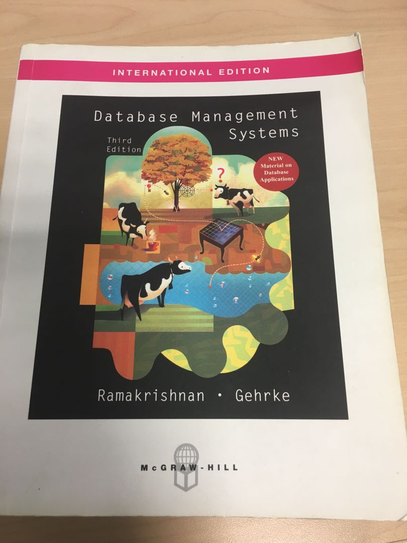 CS2102/CS3223 Textbook Database Management Systems, Books