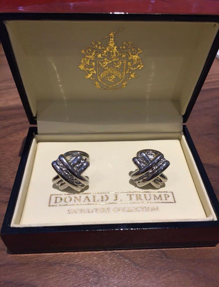 "Donald J. Trump Signature Collection ""X"" Cufflinks"