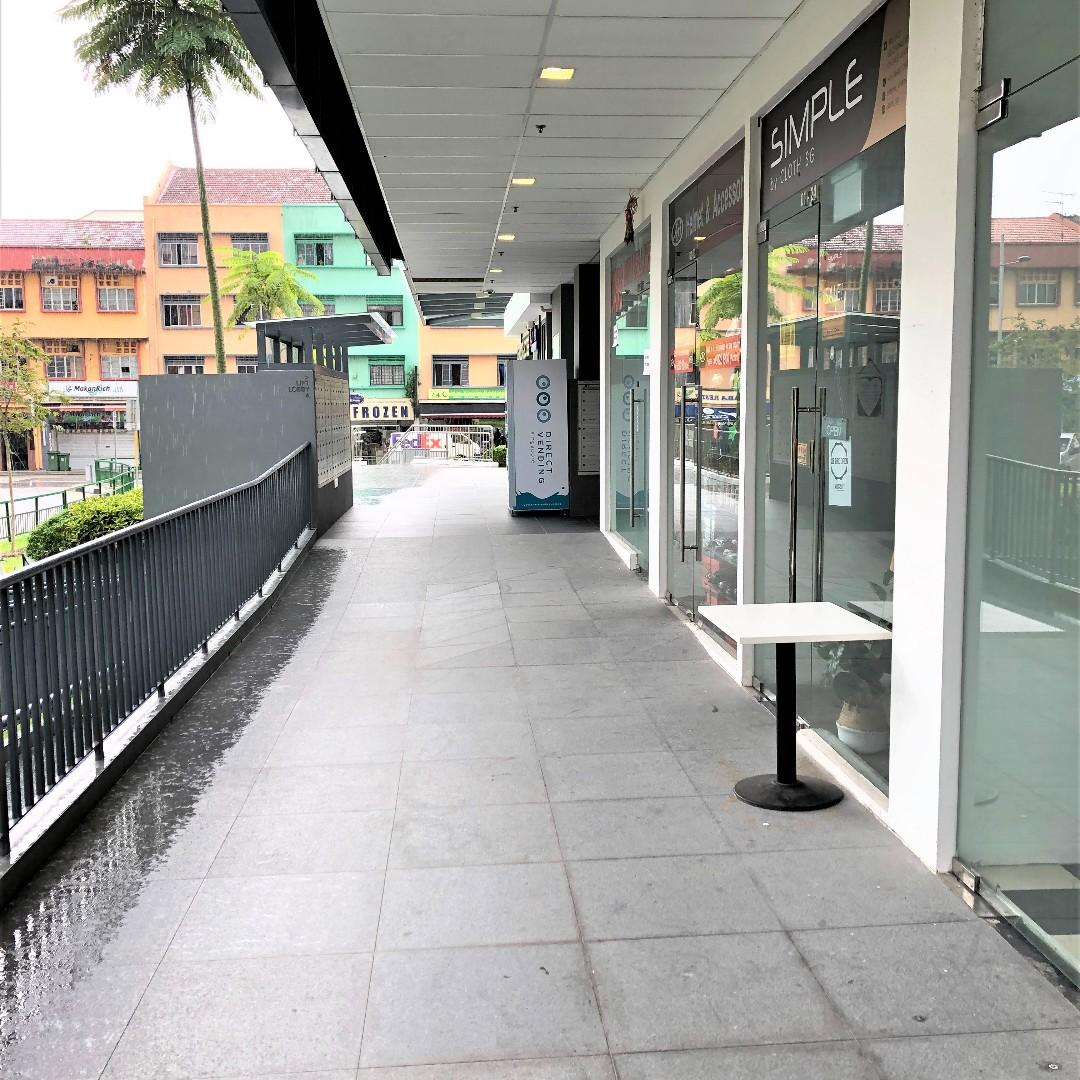 For Sale Ground Floor Retail Unit At Millage Next To Geylang