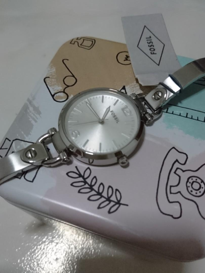 Fossil Metal Strap Stainless steel 32mm Diameter ES3083 (Authentic)