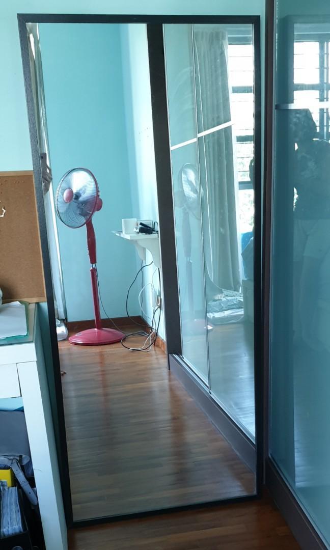 Ikea Stave Full Length Mirror, Ikea Long Length Mirror