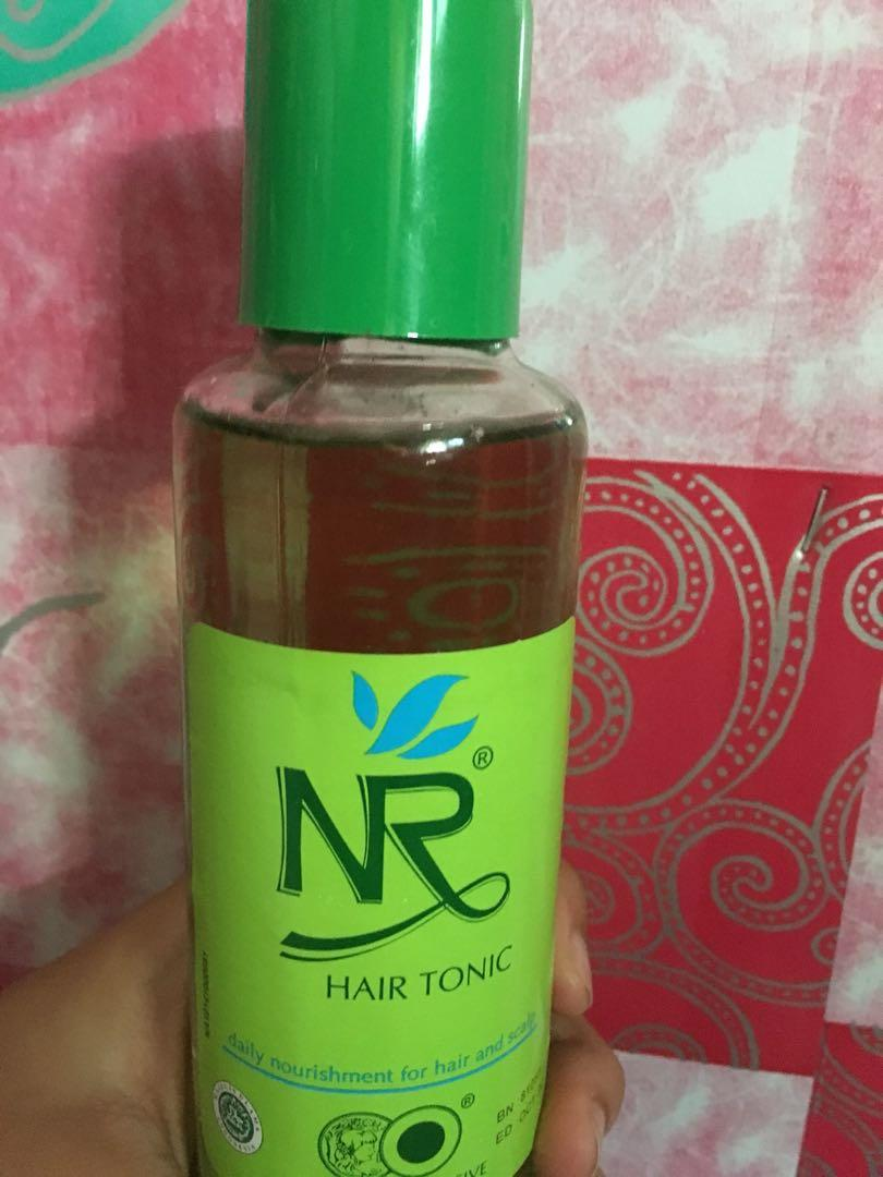 Hair Tonic NR + Makarizo Hair Energy