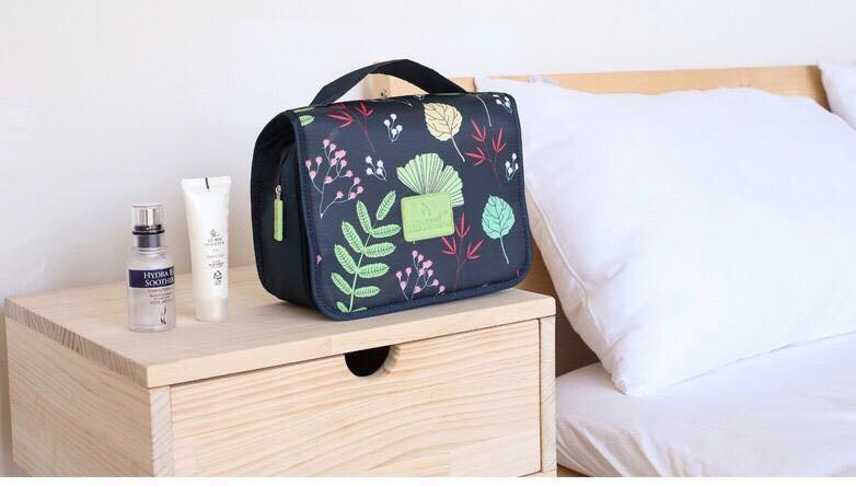 Hanging Toiletry Bag - Cosmetic Bag Make up Case for Men Women - Large Capacity Waterproof Travel Organizer Kit Accessory With Sturdy Hook for Vacation