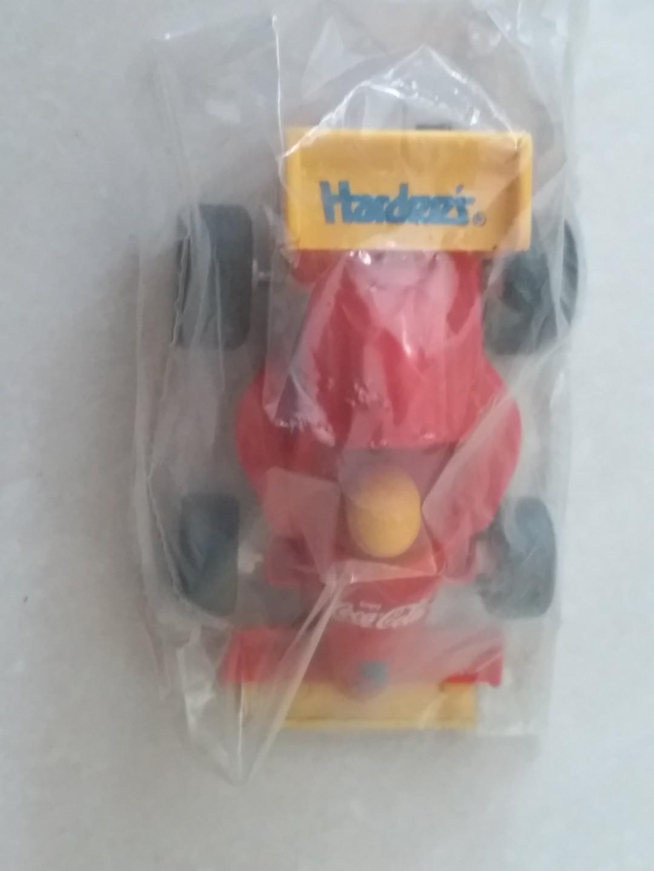 Hardees Coke formular 1 racing car