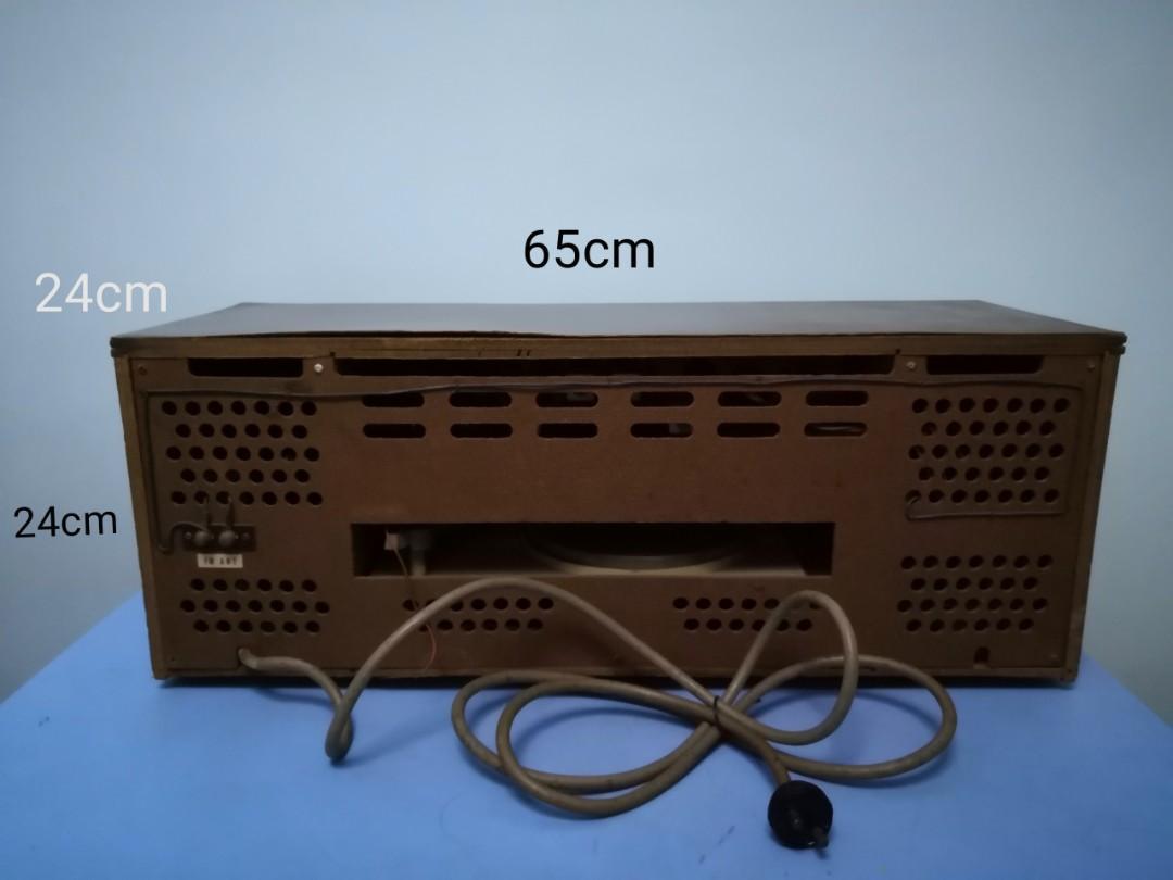 Hitachi 懷舊黑膠唱片機收音機 Vinyl Recorder