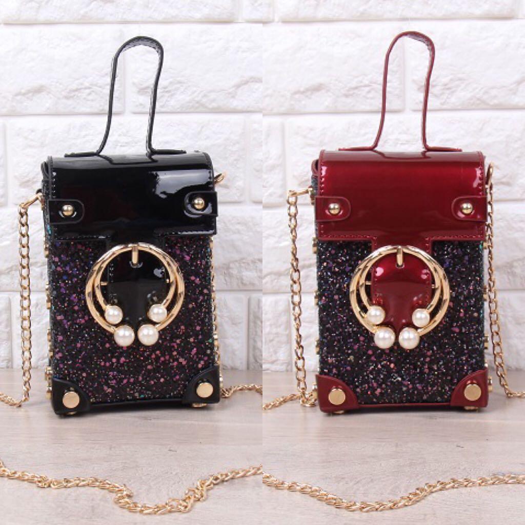 HOT Tas Selempang Sling Bag Fashion Wanita Cewek Impor Import Code 3456