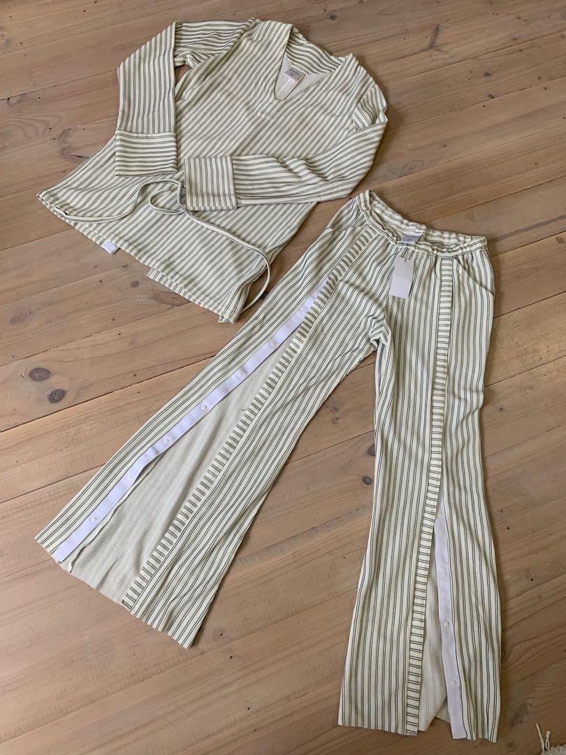 House of Sunny Striped Set