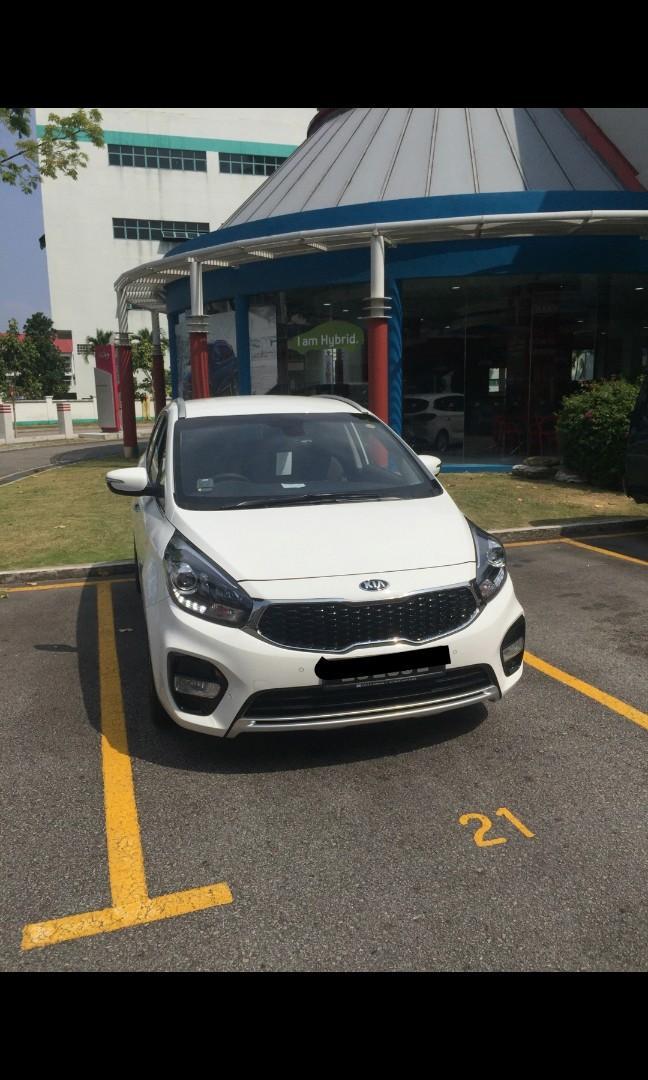 Kia Carens 1.7 SX Diesel DCT Auto