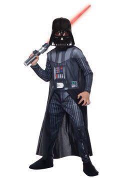 Kids Darth Vader Halloween Costume set